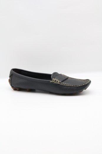 【vintage】CELINE / stitch toe deck shoes