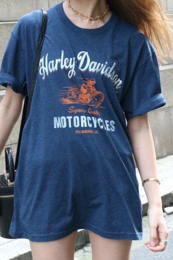 【vintage】HARLEY-DAVIDSON / Orlando California HD limited eagle logo tee