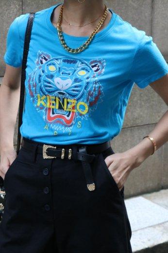 【vintage】KENZO / classic tiger print tee