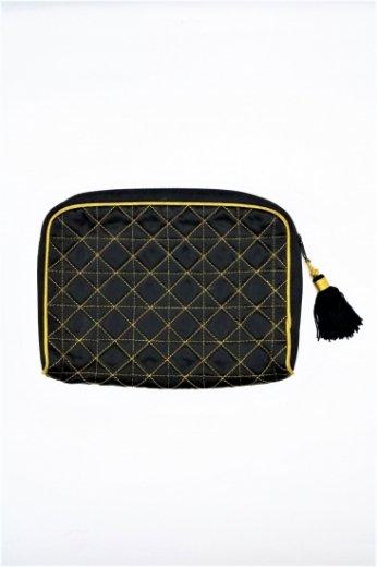 【vintage】Yves Saint Laurent / tassel quilting pouch