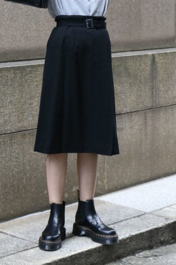 <img class='new_mark_img1' src='https://img.shop-pro.jp/img/new/icons14.gif' style='border:none;display:inline;margin:0px;padding:0px;width:auto;' />【vintage】GIVENCHY / wool wrap skirt (logo buckle belt set)