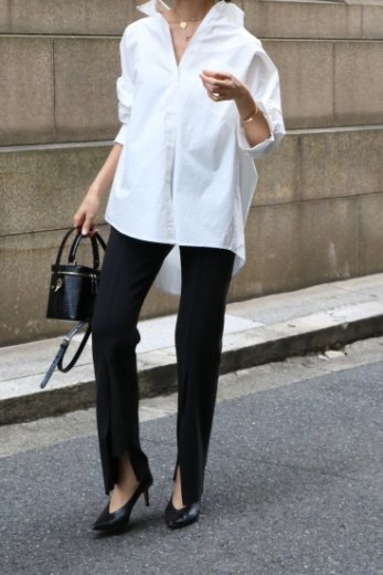 <img class='new_mark_img1' src='https://img.shop-pro.jp/img/new/icons14.gif' style='border:none;display:inline;margin:0px;padding:0px;width:auto;' />original waist gather cut cuff easy pants