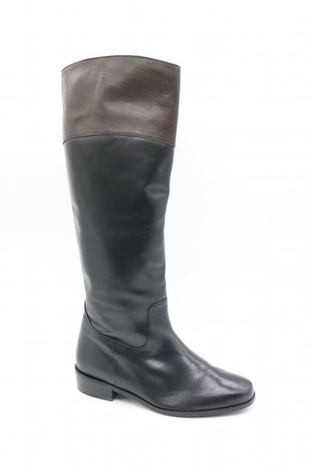 <img class='new_mark_img1' src='https://img.shop-pro.jp/img/new/icons14.gif' style='border:none;display:inline;margin:0px;padding:0px;width:auto;' />【vintage】Yves Saint Laurent / bicolor jockey boots