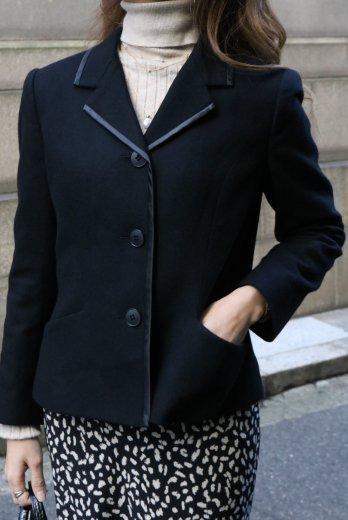【vintage】KENZO / satin piping 3B tailored jacket