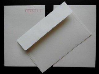 招待状手作りキット用 封筒(縦・横)