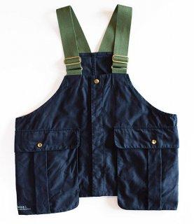 Land & B.C.(ランド&ビーシー)Hunt vest 02(ハントベスト)ネイビー