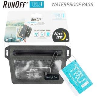 ランオフ ウォータープルーフウォレット 防水・防塵規格IP67(国際標準規格)