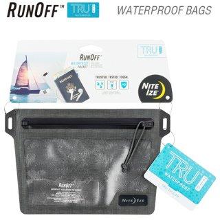 ランオフ ウォータープルーフポケット 防水・防塵規格IP67(国際標準規格)
