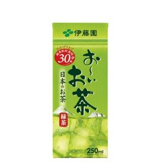 伊藤園 お〜いお茶 緑茶 パック250ml