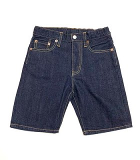 ROLLERS SELVAGE DENIM WIDE SHORTS