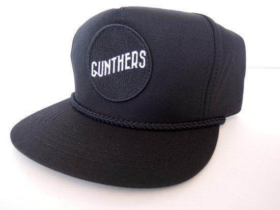 GUNTHERS ガンターズ SANTA ANA サンタアナ Caddy Hat スナップバックキャップ ブラックxブラック