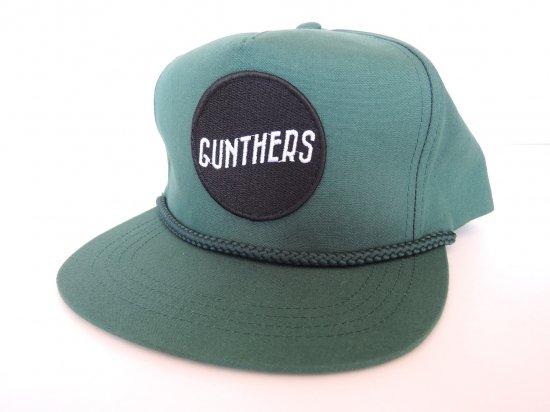 GUNTHERS ガンターズ SANTA ANA サンタアナ Caddy Hat スナップバックキャップ グリーンxブラック