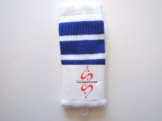 SKATERSOCKS スケーターソックス 19inch Mid Calf Socks ハイソックス BL