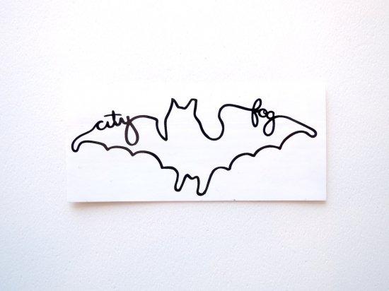 CITY FOG シティフォグ A.O.D.BAT  Sticker ステッカー