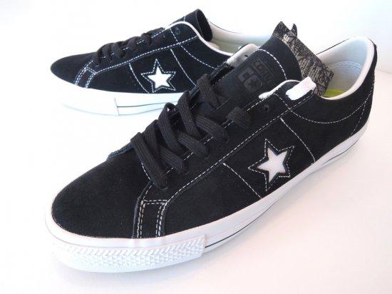 CONVERSE コンバース ONE STAR SKATE ワンスター BLACK / WHITE ブラック CONS US9.5