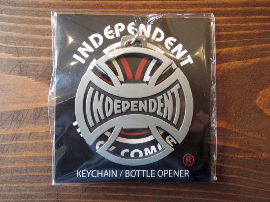 INDEPENDENT インデペンデント  T/C Bottoms Up Key Chain ボトルオープナー キーチェーン