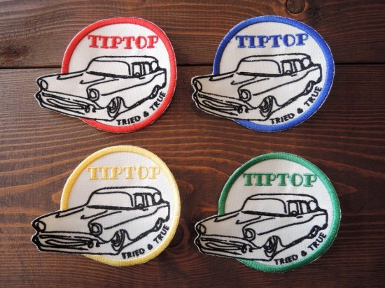 TIPTOP POMADE チップトップ  Mechanic Embroidered Patch パッチ
