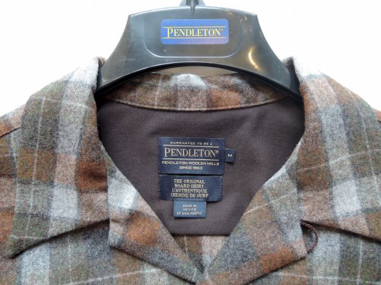 PENDLETON ペンドルトン Board Shirts  BeachBoyRust