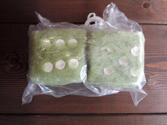 Fuzzy Dice ファジー ダイス Bright Green