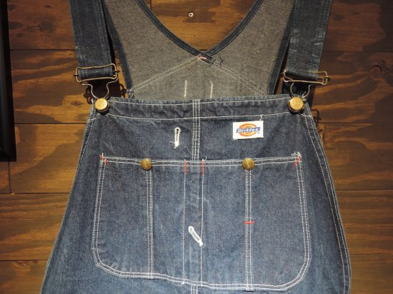 Dickies ディッキーズ  MADE IN USA Overall オーバーオール  白タグ USED38