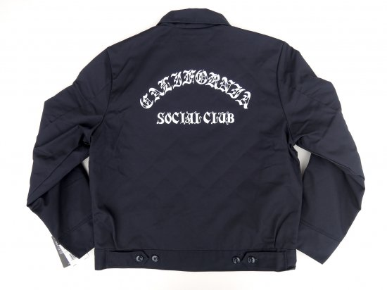 ACERS INC. エーサーズ  DICKIES TJ15 California Social Club JKT ジャケット  ネイビー