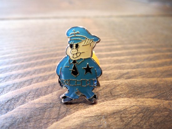 POLICE PIG  PINS  カリフォルニア ピンズ