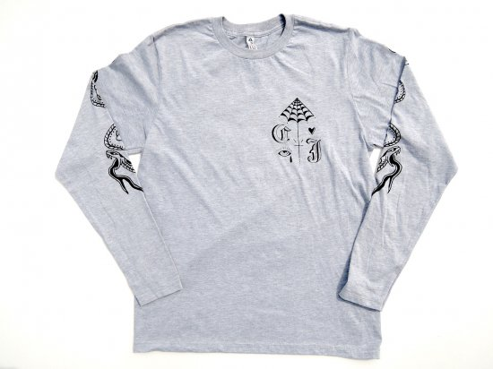 COULTER JACOBS x Bill Conner Limited L/S T-shirt GRAY グレー