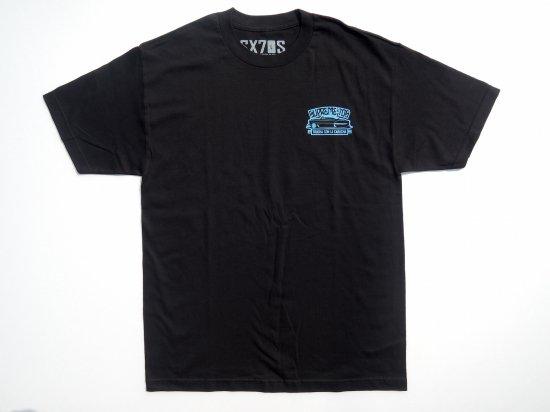 SX70'S CO. =Trucha Con La Carucha=S/S T-SHIRT BLACK ブラック