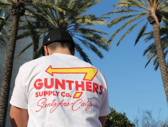 GUNTHERS ガンターズ ORIGINAL ANIMAL STYLE TEE WHITE ホワイト