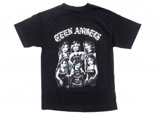 TEEN ANGELS ティーンエンジェル COVER #1  T-shirt BLACK ブラック