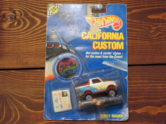 HOT WHEELS CALIFORNIA CUSTOM STREET ROADER