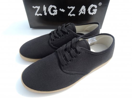 ZIG ZAG  Winos Shoes Lace Up レースアップ  Black ブラック