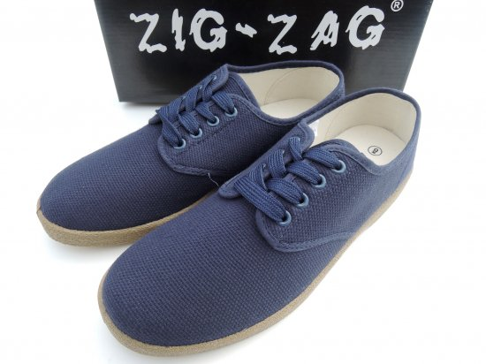 ZIG ZAG  Winos Shoes Lace Up レースアップ  Navy ネイビー