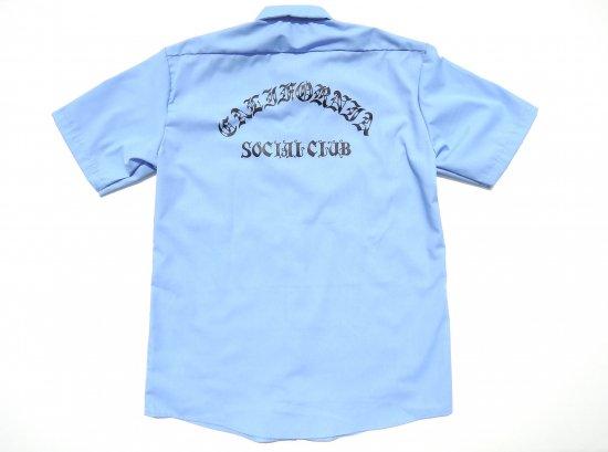 ACERS INC. エーサーズ  DICKIES LS535 California Social Club ワークシャツ LIGHT BLUE ライトブルー