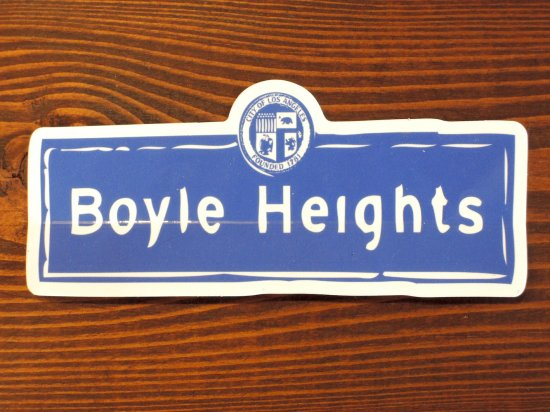 ESPACIO1839 エスパシオ Original オリジナル Boyle Heights  Sticker