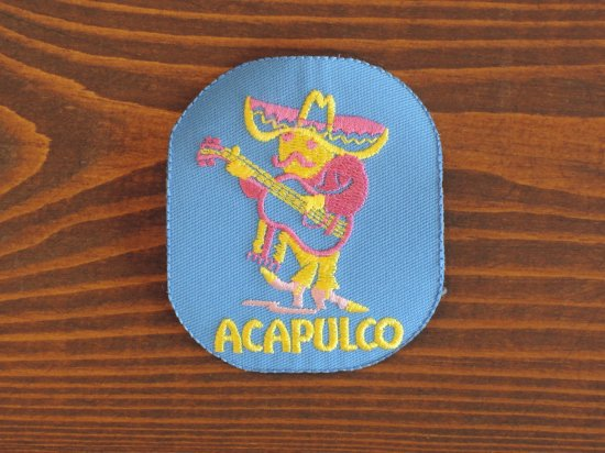 ACAPULCO  PATCH パッチ ワッペン