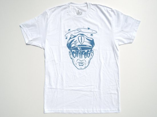 CITY FOG シティフォグ Served  S/S T-shirts Tシャツ WHITE ホワイト