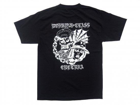 Working Class Cultura ワーキングクラスカルチュラ Jesse Barba コラボレーション S/S Tシャツ BLACK ブラック