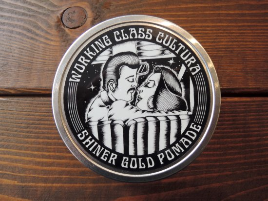 SHINER GOLD POMADE x Working Class Cultura ワーキングクラス  POMADE  PSYCHO HOLD