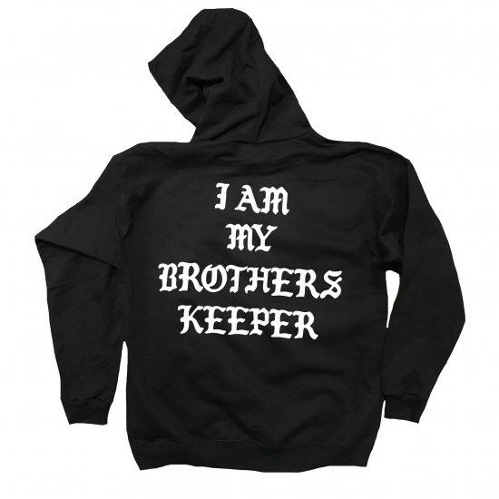 SRVNTZ サーヴァンツ  Brothers Keeper  Hoodie フーディー  Black ブラック