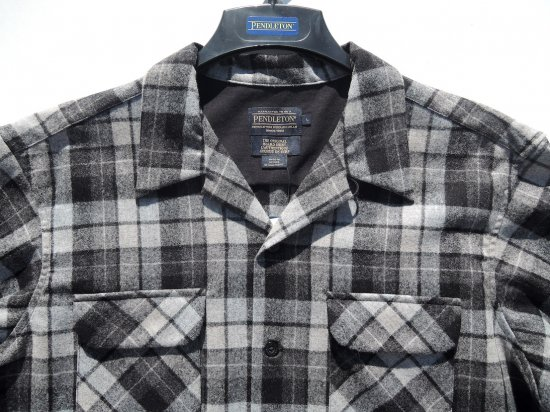 PENDLETON ペンドルトン Board Shirts  BLACK/GREY OMBRE