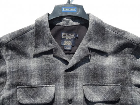 PENDLETON ペンドルトン Board Shirts  OXFORD GREY/SAGE OMBRE