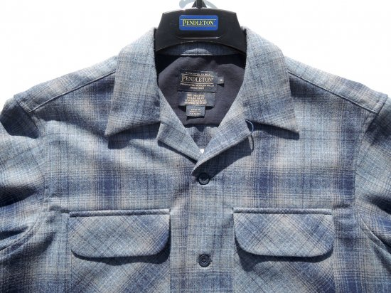 PENDLETON ペンドルトン Board Shirts   GREY/BLUE OMBRE