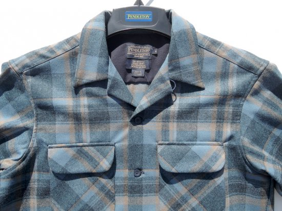 PENDLETON ペンドルトン Board Shirts   INDIGO PLAID