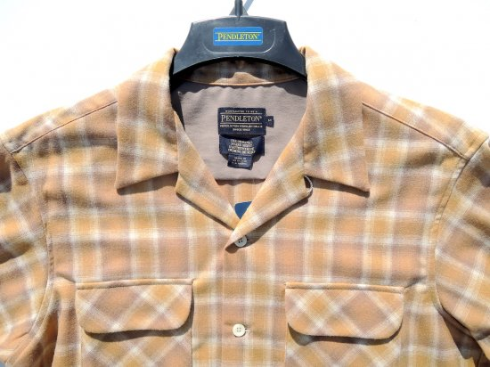 PENDLETON ペンドルトン Board Shirts  GOLD OMBRE