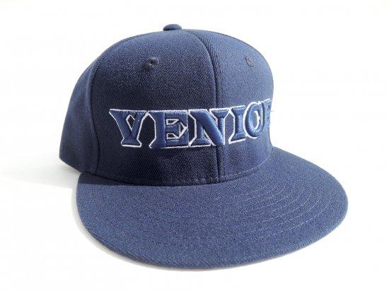 VENICE STREET WEAR ヴェニスストリートウェア  SNAPBACK CAP VENICE NAVY