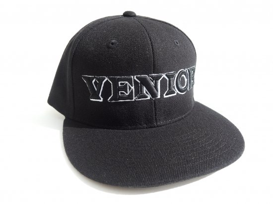 VENICE STREET WEAR ヴェニスストリートウェア  SNAPBACK CAP VENICE BLACK