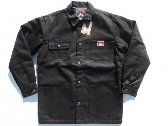 BEN DAVIS ベンデイヴィス ベンデイビス  Original Jacket #394 BLACK ブラック Front Snap