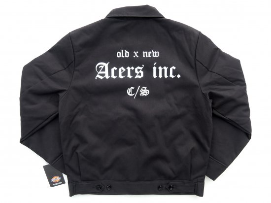 ACERS INC. エーサーズ  DICKIES TJ15  OG JKT ジャケット  BLKブラック