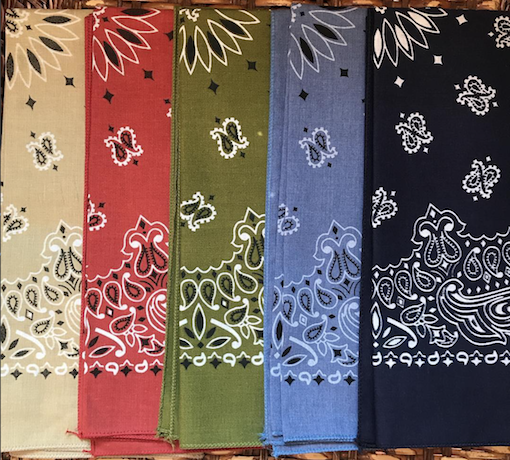 HAV-A-HANK ハバハンク Bandana Made in U.S.A アメリカ製バンダナ